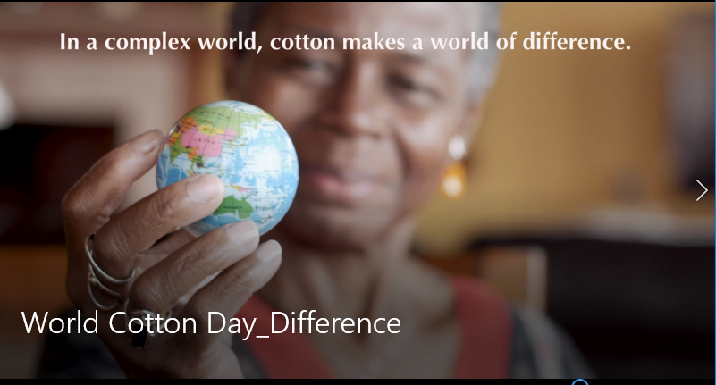 Cotton Makes A Difference